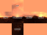 Example of all six sides of the cubemap laid out in their positions as seen by the engine